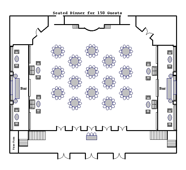 Ballroom floor plans venue floor plans 583 park avenue for Mansion floor plans with ballroom