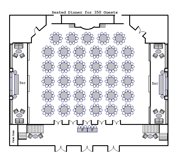Ballroom Floor Plans Venue Floor Plans 583 Park Avenue