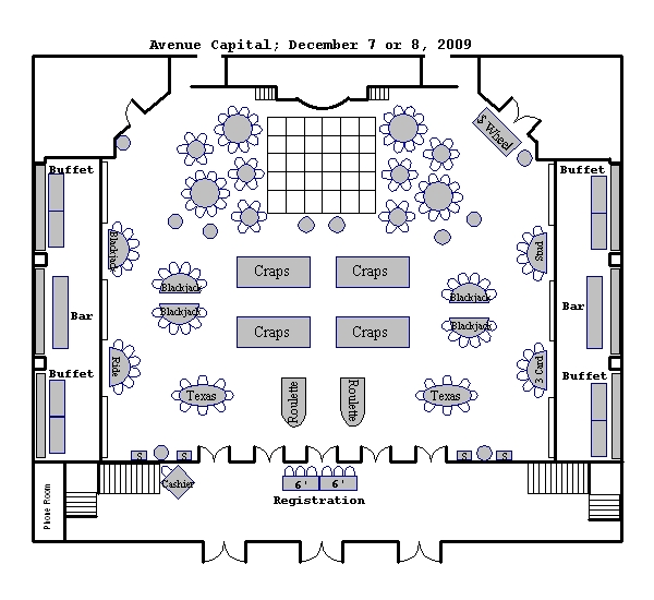 Ballroom floor plans venue floor plans 583 park avenue for Trade show floor plan design